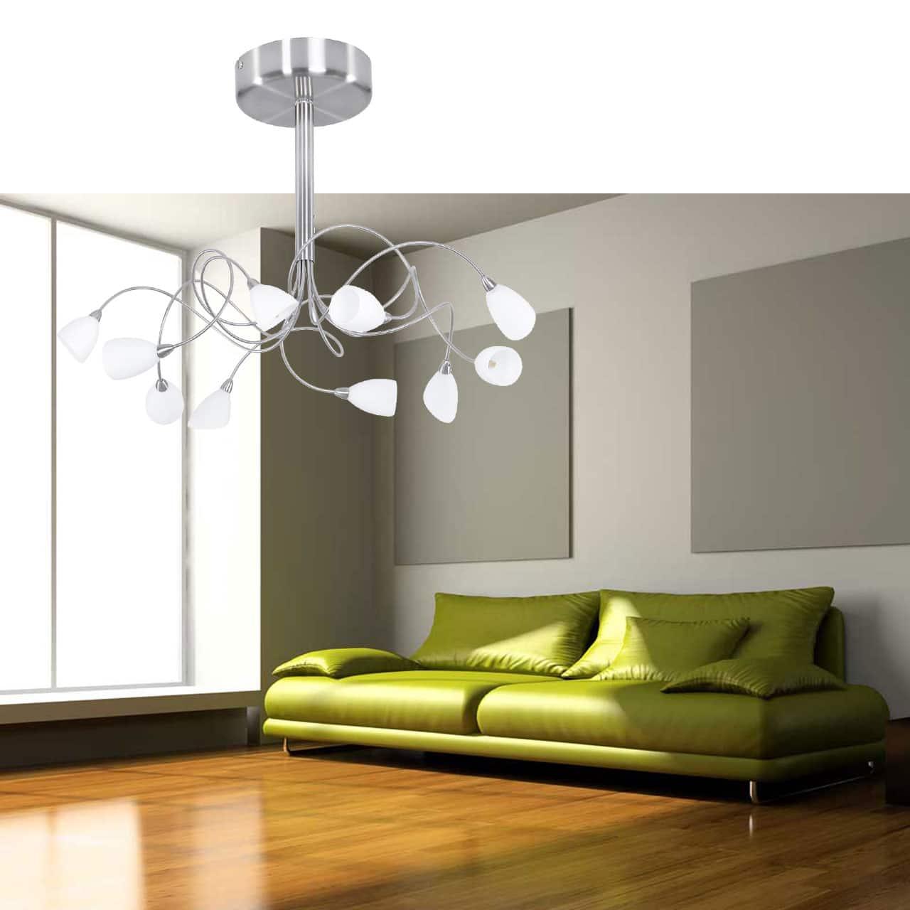 Moderne Plafondlamp Tarda Led Met Wit Glas Lampenconcurrent Nl