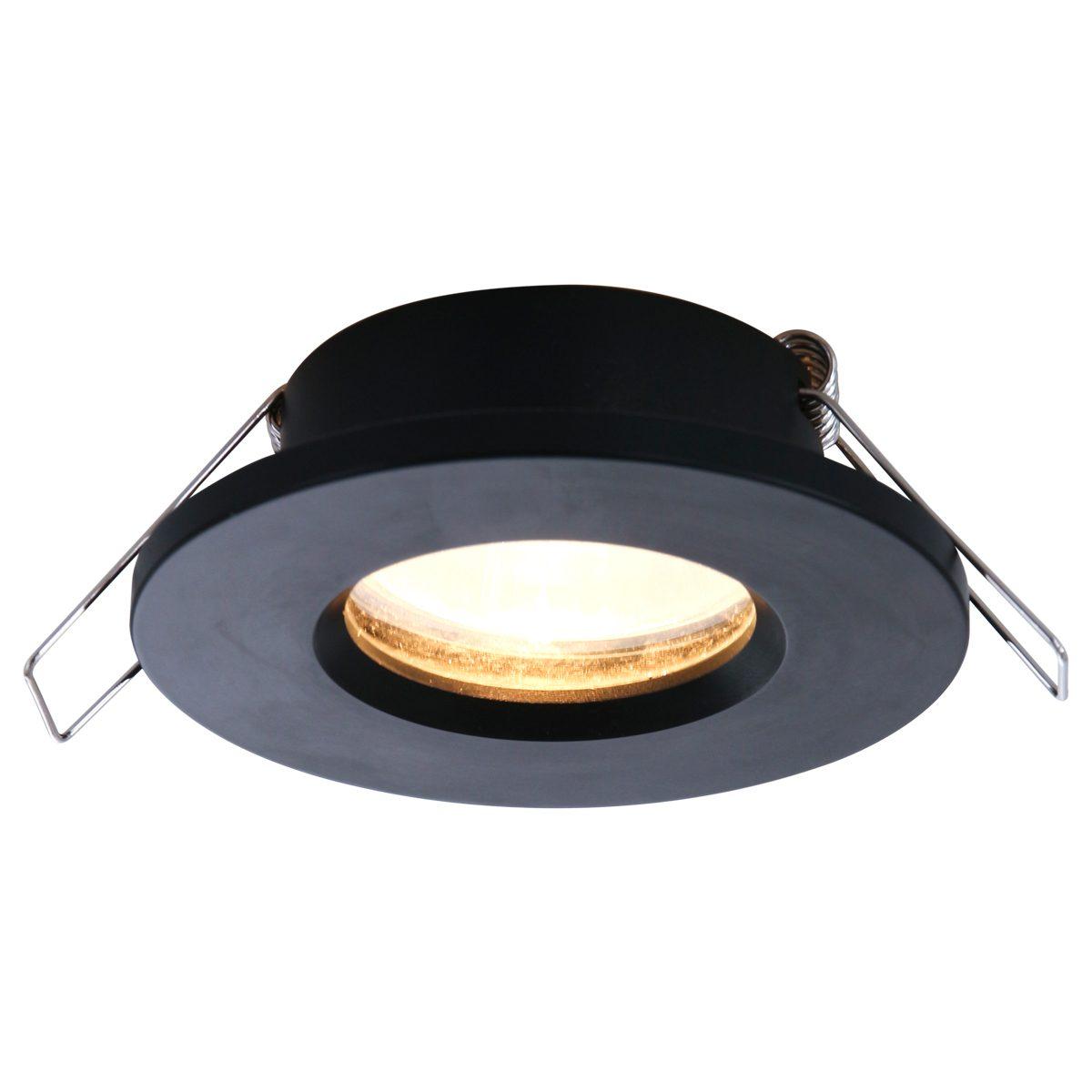 Badkamer Spot Ip44 Zwart Lampenconcurrent Nl